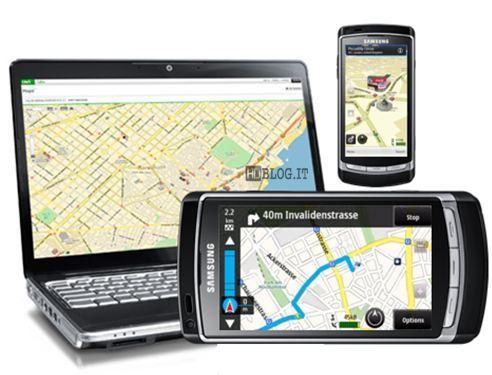 navigatore per samsung omnia i900