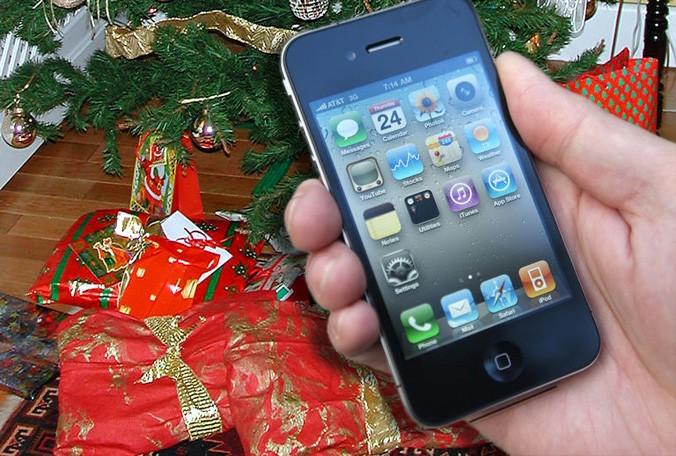 Immagini Di Natale Per Iphone 5.Speciale Natale Come Inviare Biglietti D Auguri Di Natale Da