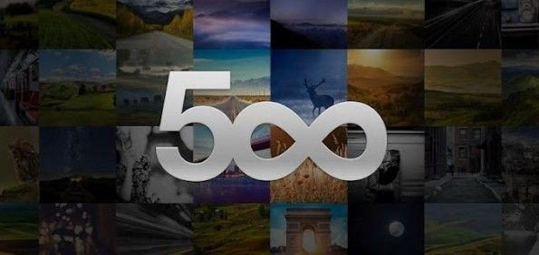 le proprie foto da 500px