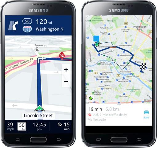 Nokia Presenta Here Beta Per Android In Esclusiva Su Smartphone