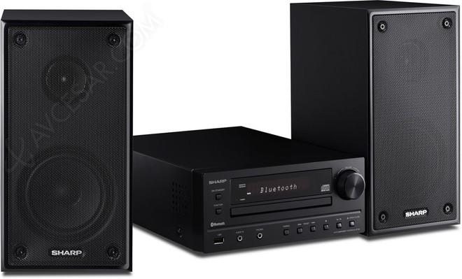Sharp realizza un mini impianto audio con CD e Bluetooth