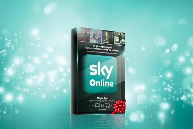 Sky TV e Sky Online in visione tramite tessere prepagate