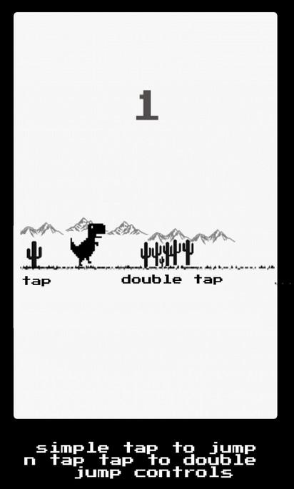 Dino Run, Dinosty: il gioco nascosto di Chrome arriva nel