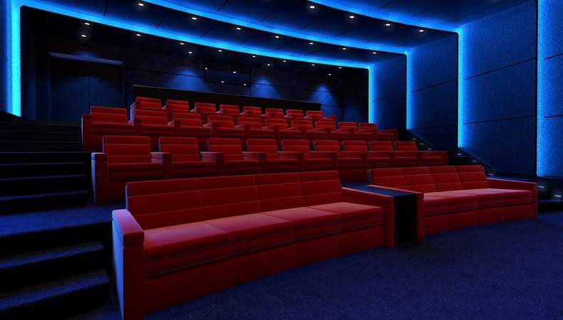 Piccole Sale Cinematografiche : Imax private theatre costruisce sale cinema da 2 milioni di sterline