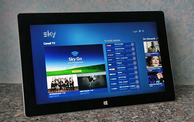 Sky Go Laptop