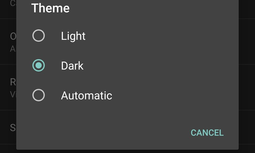 Android M Arriva Il Tema Di Sistema Dark Hdblogit