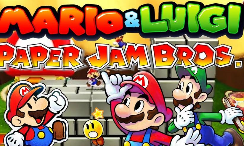 mario and luigi paper jam emulator
