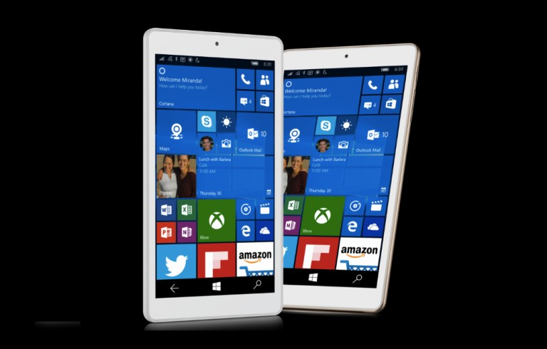 aa1dbf18d3efb Alcatel Pixi 3 ufficiale  tablet da 8 pollici Windows 10 Mobile che telefona
