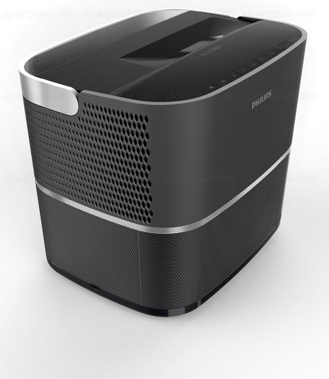 philips annuncia un proiettore compatto a tiro ultra corto. Black Bedroom Furniture Sets. Home Design Ideas