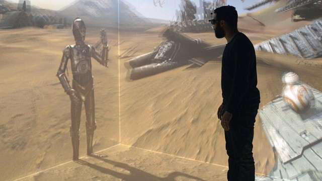 Holo Cinema trasforma Star Wars in un video con realtà aumentata (video)