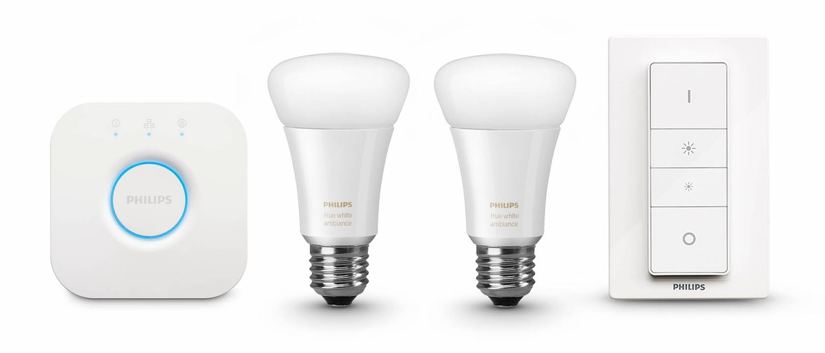 Le nuove lampadine philips hue white ambiance regolano la for Nuove lampadine led