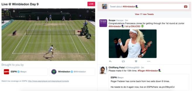 Twitter punta sul livestream sportivo: Wimbledon è in diretta