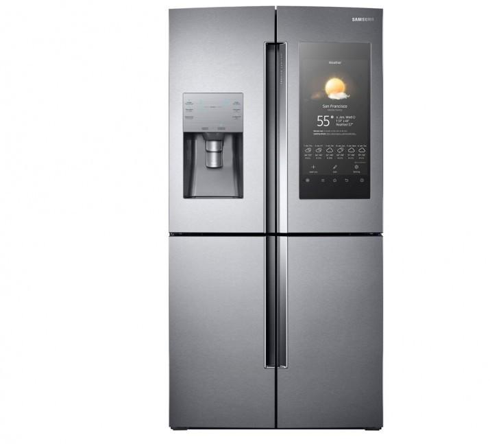 Samsung rilancia Family Hub, frigorifero con Android e display da 21 ...