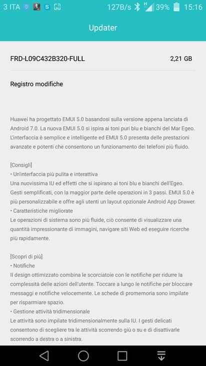 Honor 8, disponibile la Beta pubblica di Android Nougat