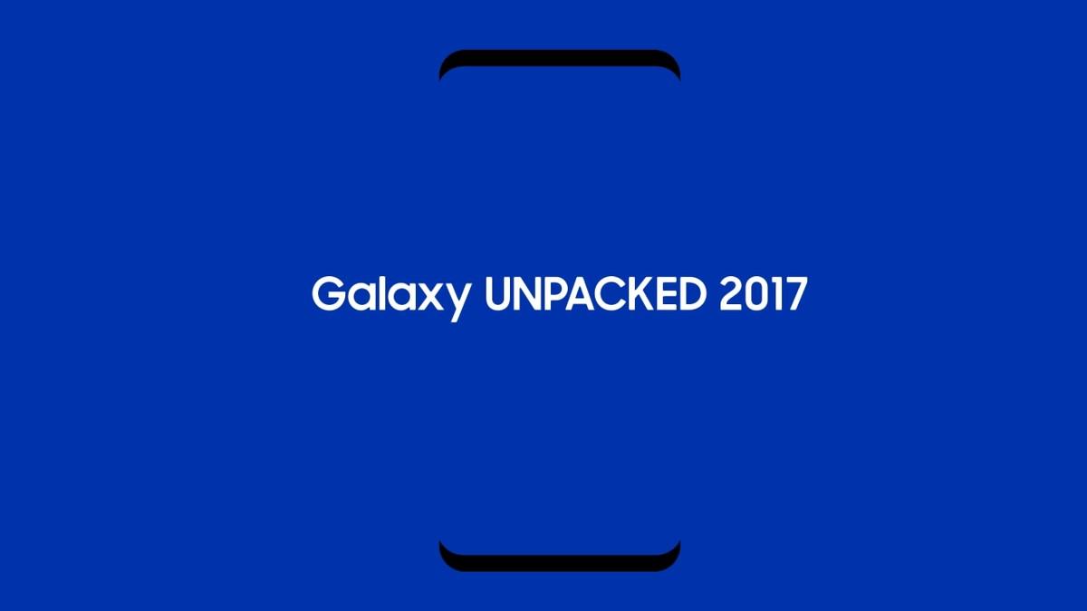 Galaxy S8 Poster Dell Evento Presunti Wallpaper Ufficiali E