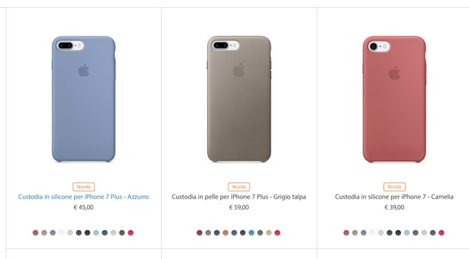 custodia apple in pelle iphone 7