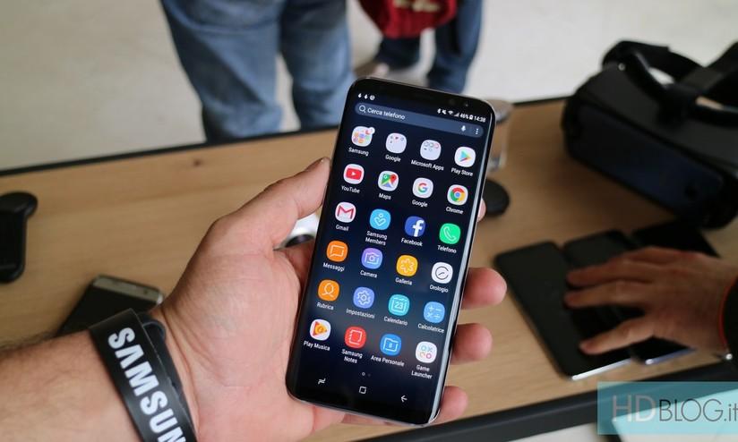 Galaxy S8 Ecco Gli Sfondi Ufficiali Alla Massima Risoluzione