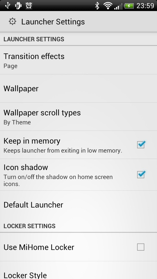 MiHome Launcher - Android - HDblog it