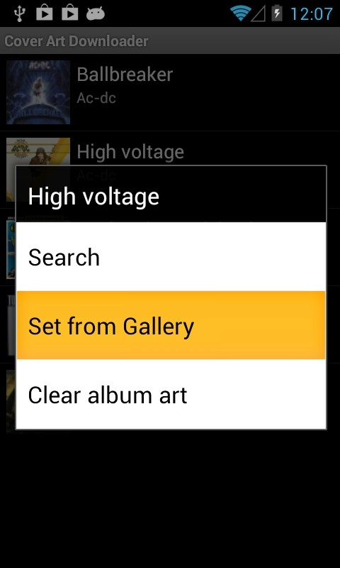 Cover Art Downloader - Android - HDblog it