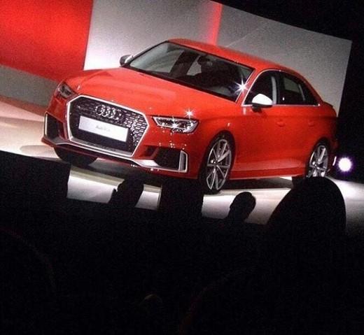 Audi Rs3 Berlina Le Prime Immagini Hdmotori It