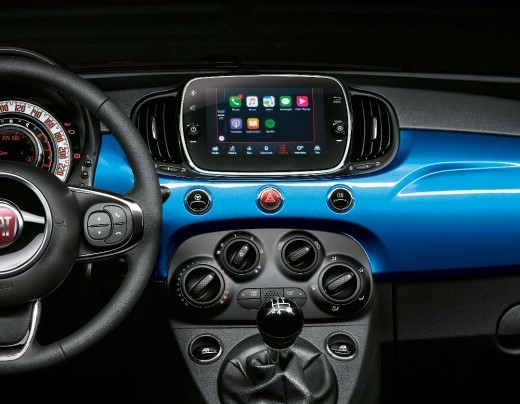uconnect 7  Fiat 500, Apple CarPlay e Android Auto su Uconnect... in Francia ...