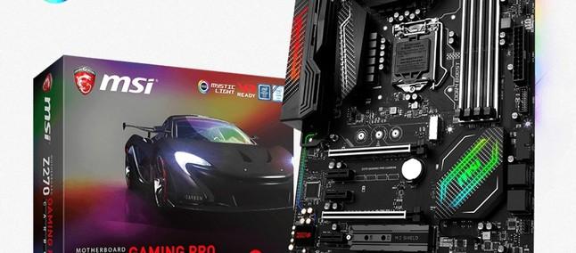 MSI Z270 Gaming PRO CARBON Supporta Le Funzionalità