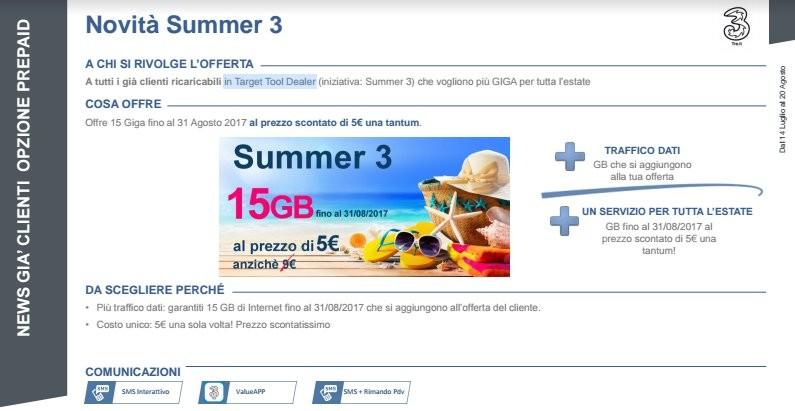 3 Italia, ecco tutte le offerte dell\'estate - HDblog.it