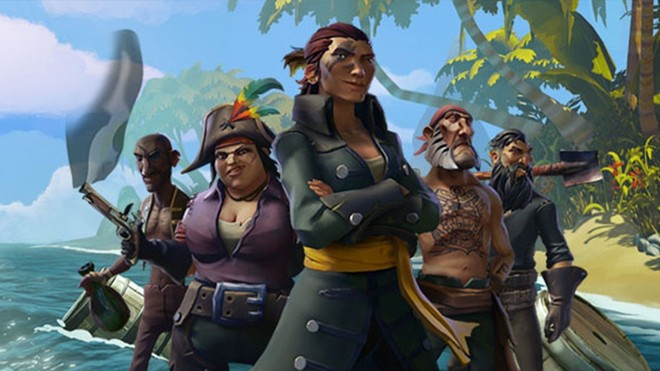 Sea of Thieves è disponibile su PC e Xbox One, anche con Game Pass