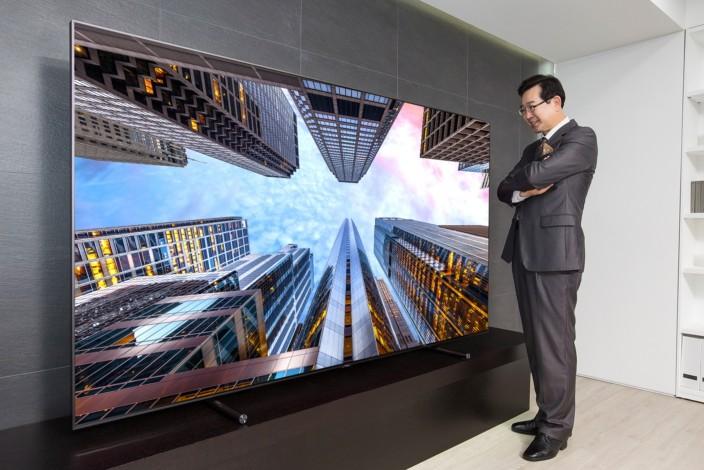 I TV Samsung QLED 2018 potrebbero utilizzare una