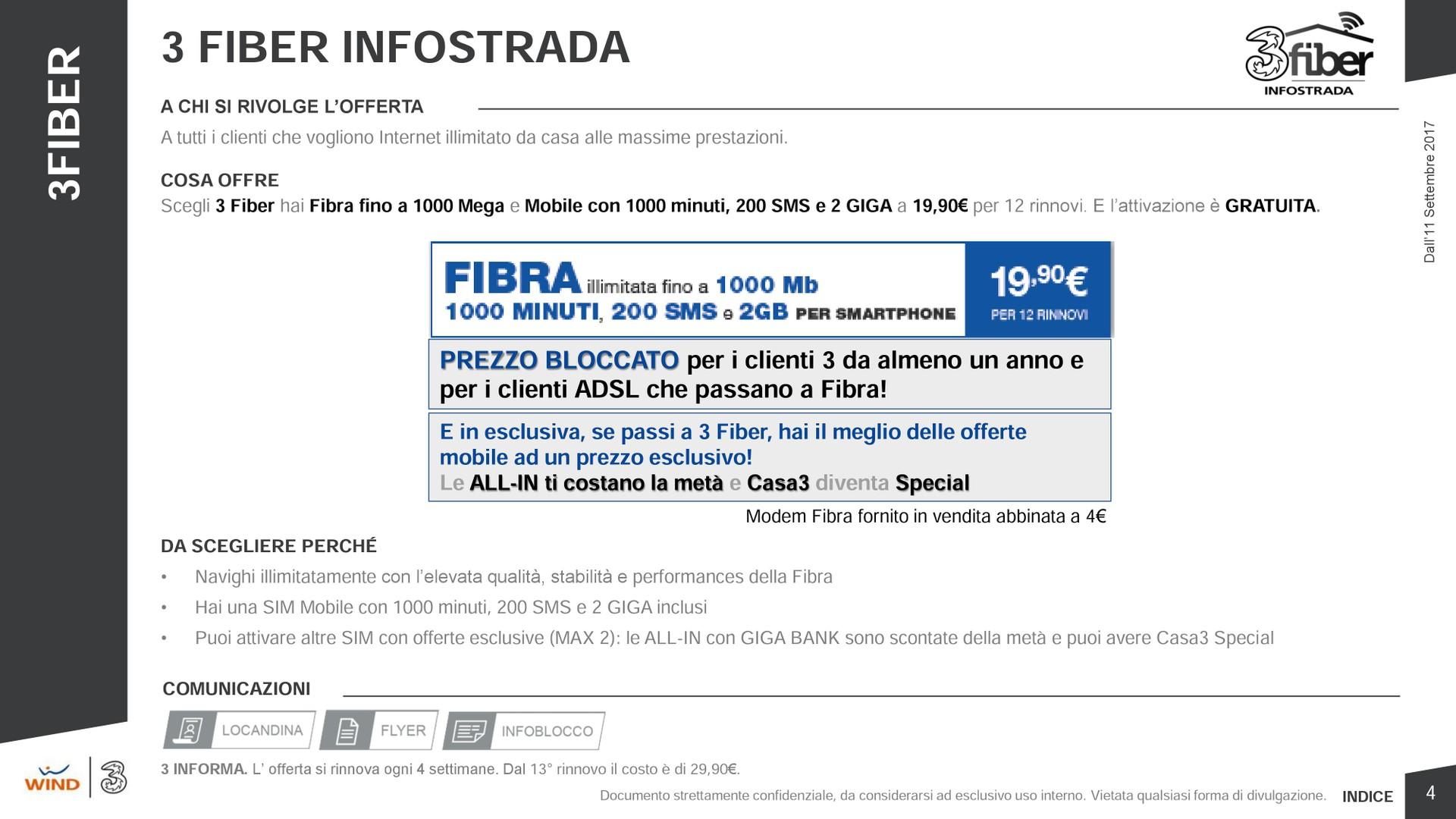 3 Fiber: nasce la nuova offerta fisso mobile di 3 Italia dall\'11 ...