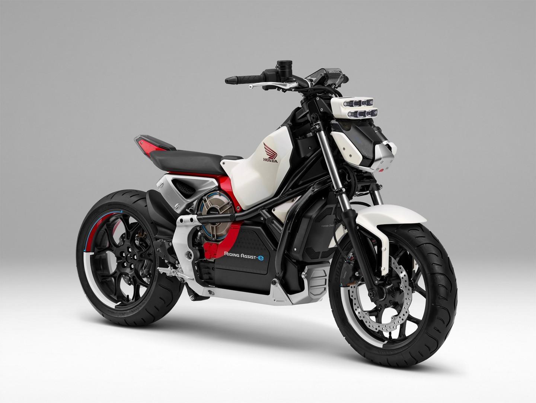 Honda Scooter Elettrico E Ibrido Moto Elettrica Anti Caduta