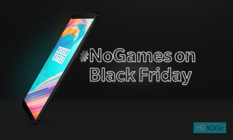 a2ba7e5df1b2d0 OnePlus dice NO al Black Friday. Sconto di 1 centesimo su OP5T. 23 Novembre  2017