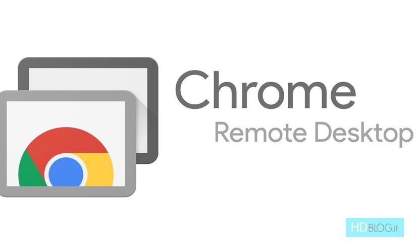 Chrome Remote Desktop Web (stabile) disponibile dopo quasi