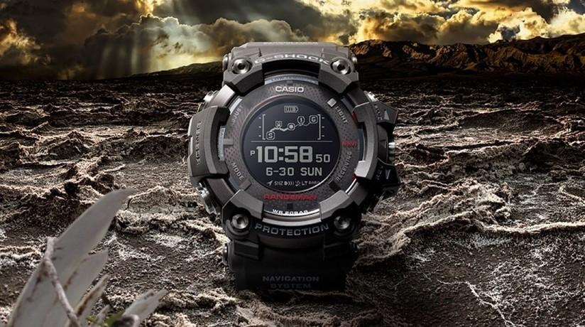 e1a388b03a81 Casio G-Shock GPR-B1000  al CES il primo sportwatch con GPS alimentato dal  Sole