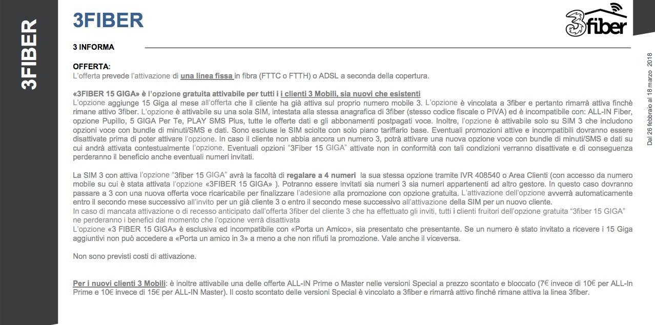 3 Italia: tutte le offerte disponibili da lunedì 26 febbraio ...