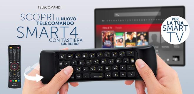 Smart4 meliconi telecomando universale con tastiera for Telecomando smart tv