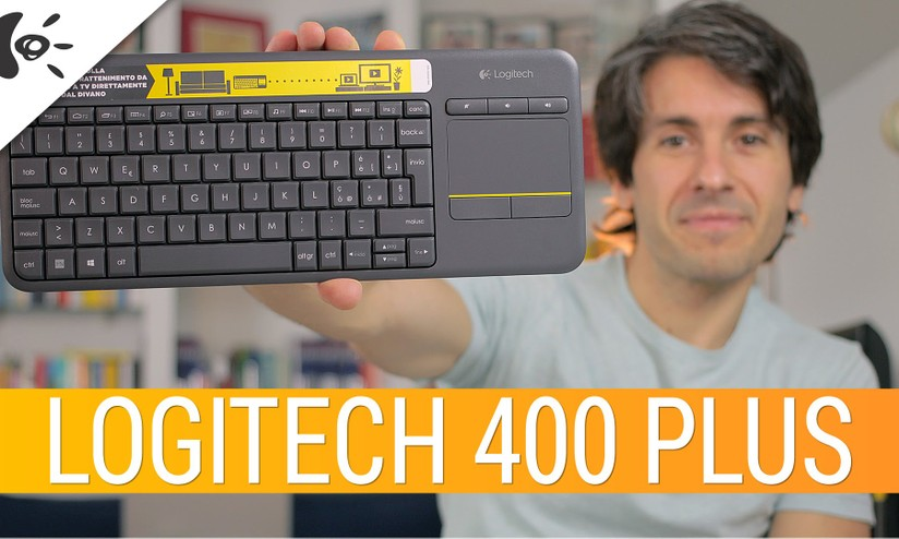 8acb83802a8 Logitech Keyboard K400 Plus: la recensione di HDblog - HDblog.it
