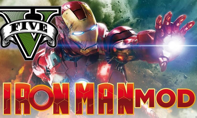 GTA V: una mod permette di vestire i panni di Iron Man