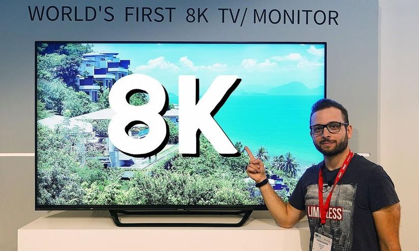 Sharp porterà il primo TV 8K 70