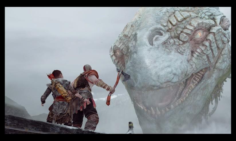 God of war: cali di frame rate e problemi nellilluminazione con le