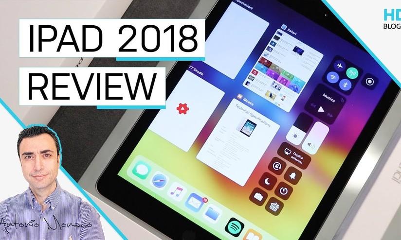 d71cfdd678d Apple iPad 2018 con Apple Pencil: è l'iPad che mancava | Recensione -  HDblog.it