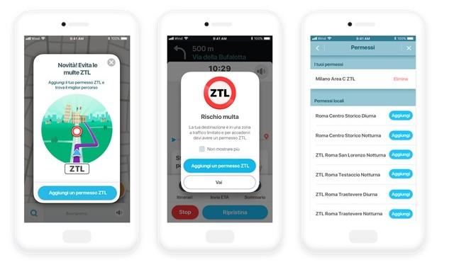 Waze ZTL Pass: finalmente la funzione per le zone a traffico