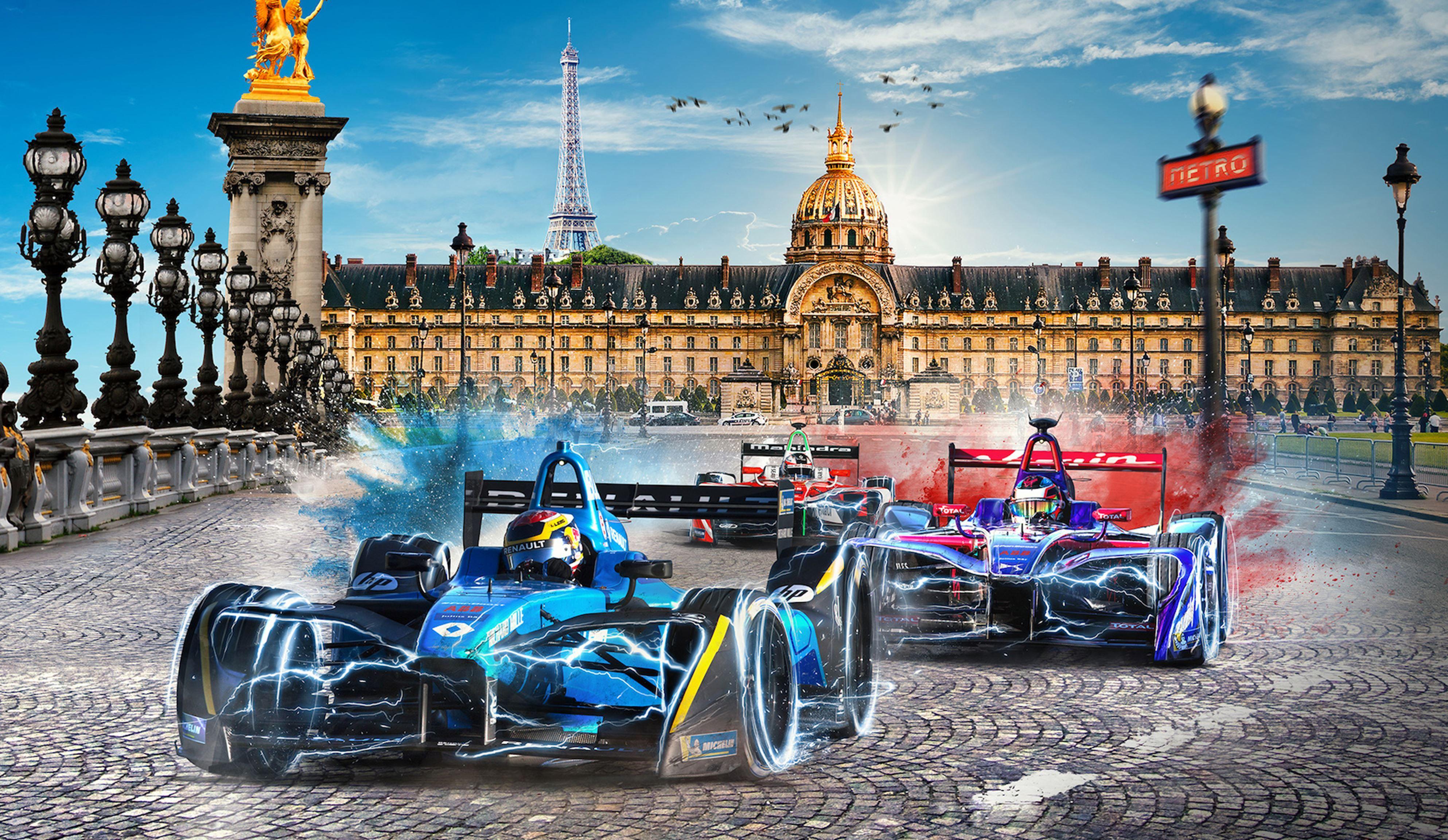 Formula E, a Parigi vince Vergne