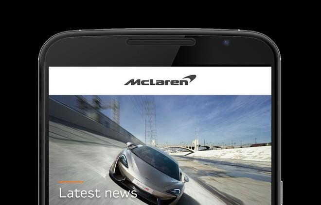 McLaren Mobile, la prima app al servizio dei clienti disponibile per iOS e Android - image  on http://www.zxbyte.com