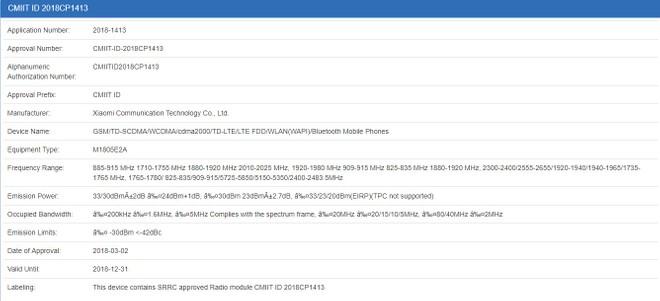 Xiaomi Mi 8: ufficiale il 31 maggio