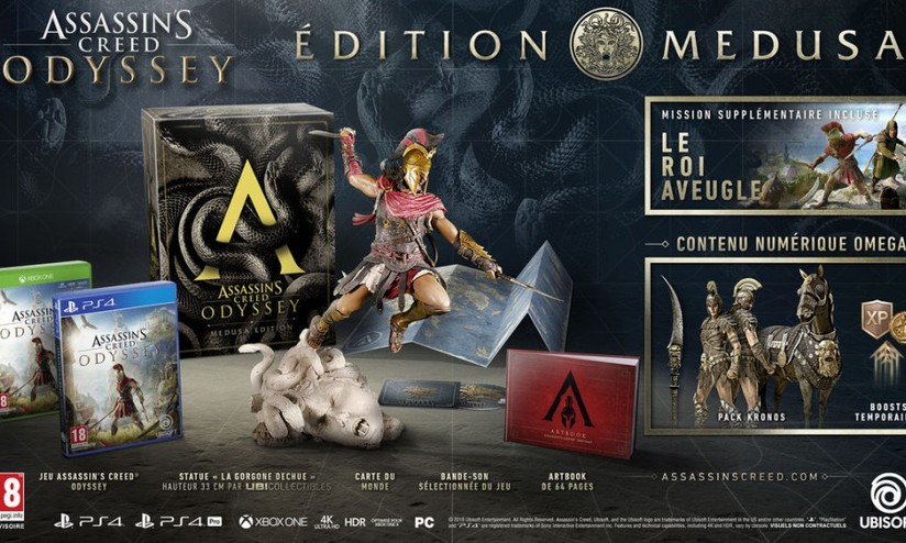 assassins creed odyssey limited edition contenuto