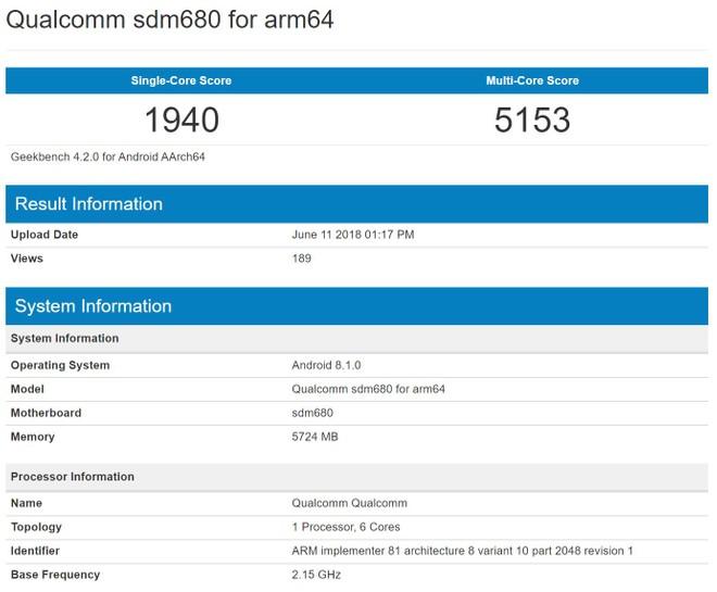 Un misterioso Snapdragon 680 si mostra su GeekBench 4
