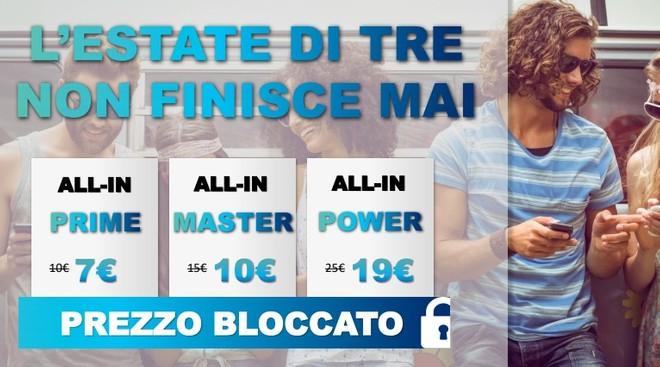 3 Italia migliora le ALL-IN: da 7€ al mese e con 6 mesi di Apple ...