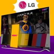 L'applicazione NOW TV è disponibile sugli Smart TV LG