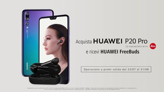 Huawei P20 Pro: FreeBuds in regalo per chi lo acquista fino al 31/08 - image  on https://www.zxbyte.com